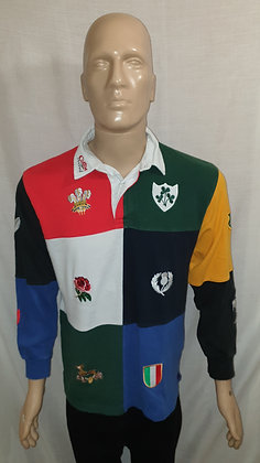 Cotton Traders Rugby Shirt