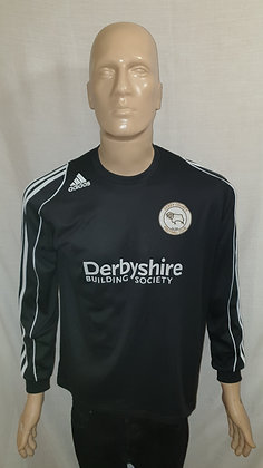 2007/08 Derby County Long Sleeved Away Shirt