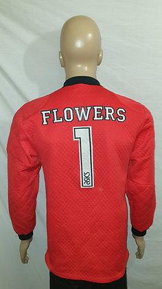 1994/95 Blackburn Rovers Goalkeeper Shirt FLOWERS 1