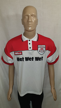 1995/96-1996/97 Clydebank Home Shirt (Signed by Tommy Cunningham)