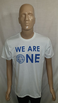 2018/19 Leicester City 'We Are One' T-Shirt