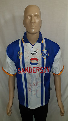 1995/96-1996/97 Sheffield Wednesday Home Shirt (Signed)