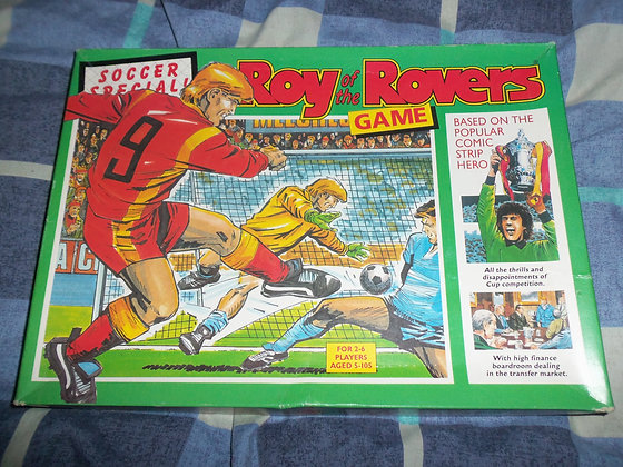 Roy of The Rovers Board Game (1990)