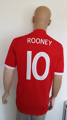 2010-2011 England Away Shirt ROONEY 10: Size 40