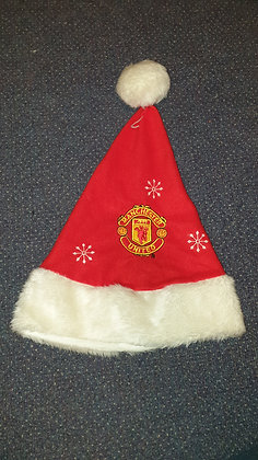 Manchester United Father Christmas Hat