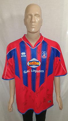 2007/08 Crystal Palace Home Shirt (Signed)