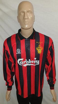 1997/98 Romford Long Sleeved Away Shirt: Size 42 / 44 (Match Worn?)