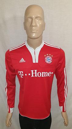 2009/10 FC Bayern München Long Sleeved Home Shirt