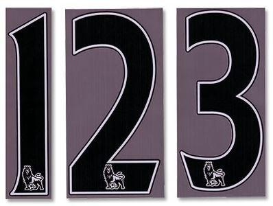 2007/08 - nowadays Premiership Numbers