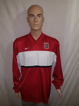 1998 Poland Long Sleeved Away Shirt (Player Issue)