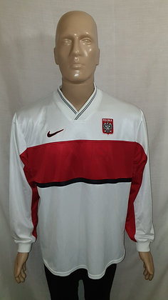 1998 Poland Long Sleeved Home Shirt