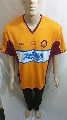 Motherwell 2005 C.I.S. Insurance Cup Final Shirt