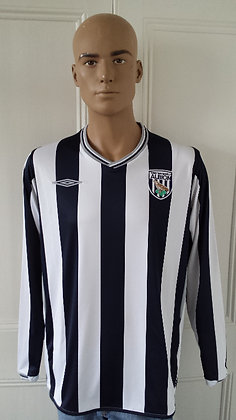 2009/10 West Bromwich Albion Home Shirt: BNWT