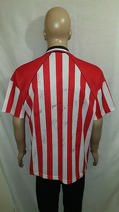 1994/95 Sheffield United Home Shirt (Signed)