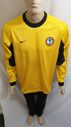 2001 Nigeria Goalkeeper Shirt