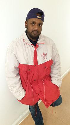 1988/89-1990/91 Adidas Bench Jacket: Size 42/44