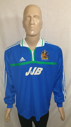 2000/01-2001/02 Wigan Athletic Long Sleeved Home Shirt (Brand New with Tag)