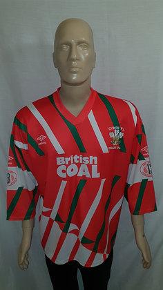 1990-1991 Wales Home Shirt
