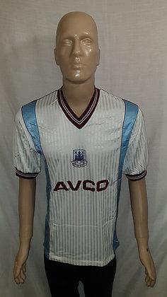 1987/88-1988/89 West Ham United Away Shirt: Size 42