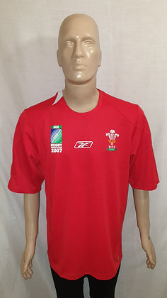 2007 Wales Rugby World Cup Home Shirt