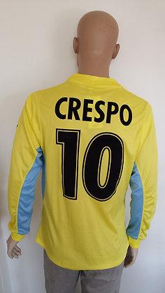 2001/02 S.S. Lazio Player Version Long Sleeved Away Shirt CRESPO 10 (BNWT)