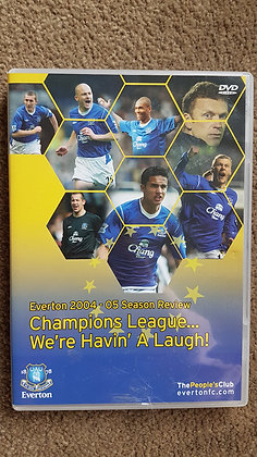 Everton 2004 - 05 Season Review DVD