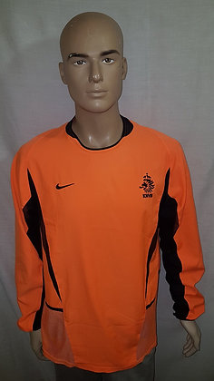 2002-2003 Netherlands Cool Motion Long Sleeved Home Shirt