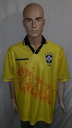 1995-1996 Brazil Home Shirt