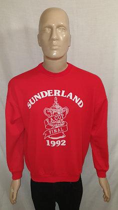 Sunderland 1992 FA Cup Final Jumper
