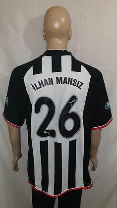 2002/03 Beşiktaş J.K. Home Shirt İLHAN MANSıZ 26