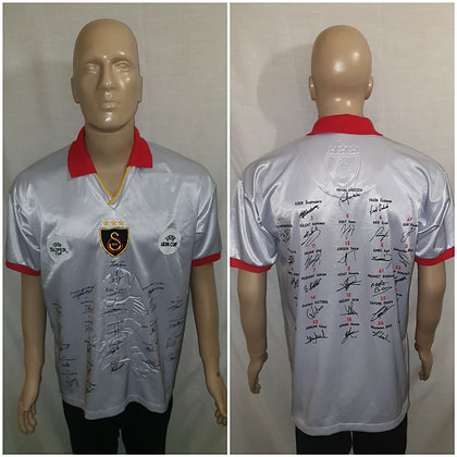 Galatasaray S.K. UEFA Cup and Super Cup Winners Shirt