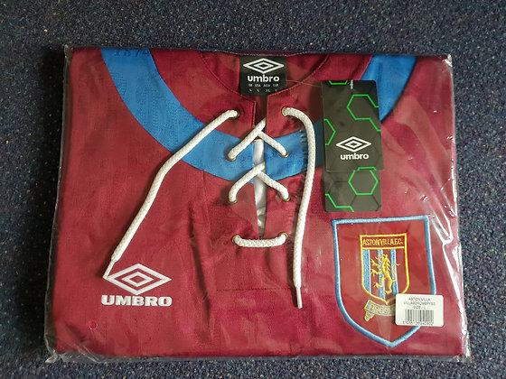 1992/93 Aston Villa Home Shirt (Brand New in Bag)