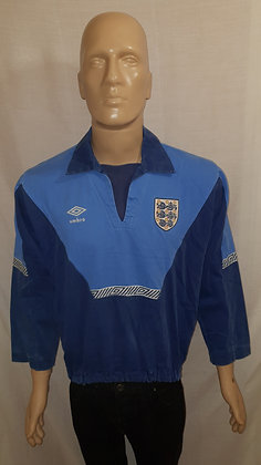 1991-1992 England Drill Top