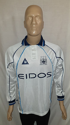 1999/00 Manchester City Long Sleeved Away Shirt (Match Worn or Player Issue?)