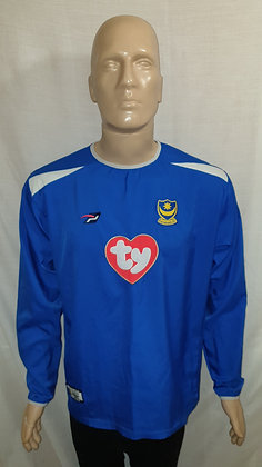 2003/04-2004/05 Portsmouth Long Sleeved Home Shirt