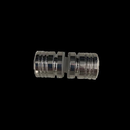 Puxador para box de vidro temperado / alumínio