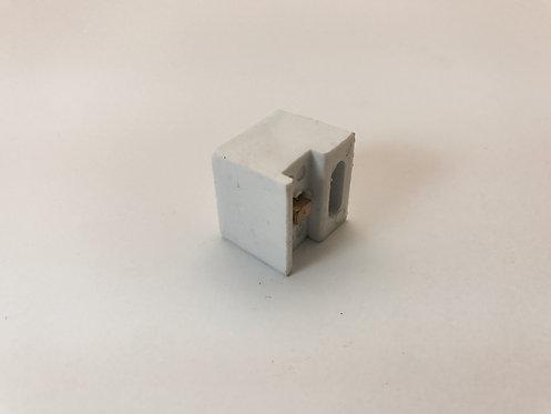 Batedor box inferior  quadrado com parafuso inox