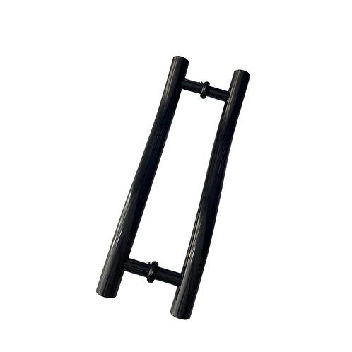 Puxador H formato S 25x400x300F tubular redondo