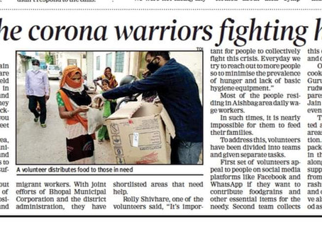 Meet the corona warriors fighting hunger