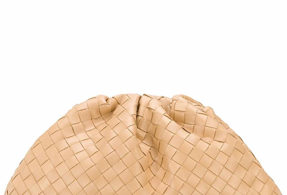 Almond pouch bag