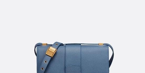 Denim Blue 30M box flap bag
