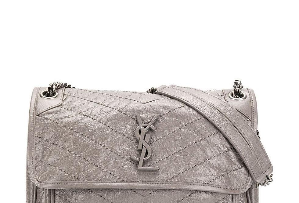 Gray NM baby mini shoulder bag