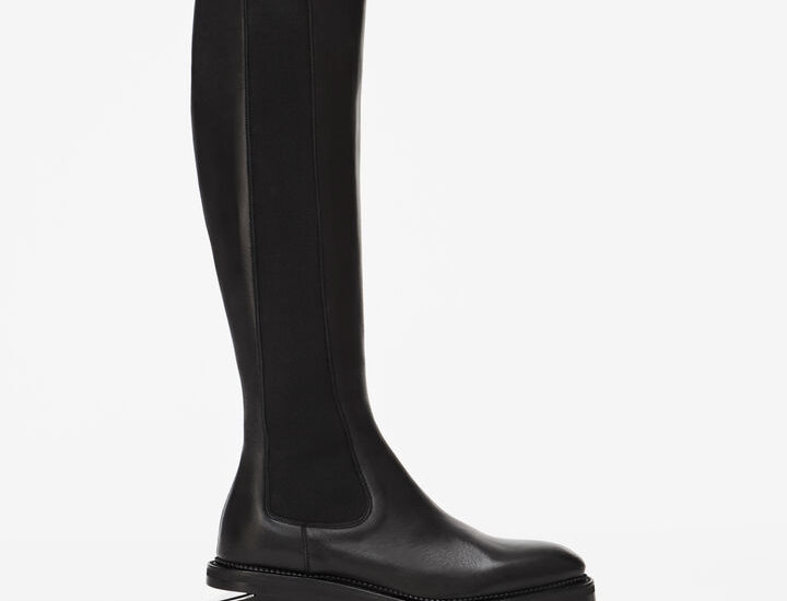AW zippered riding boot