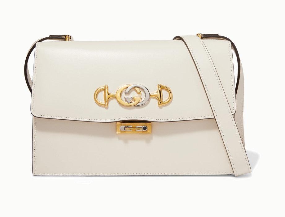 GZ small embellished leather shoulder bag