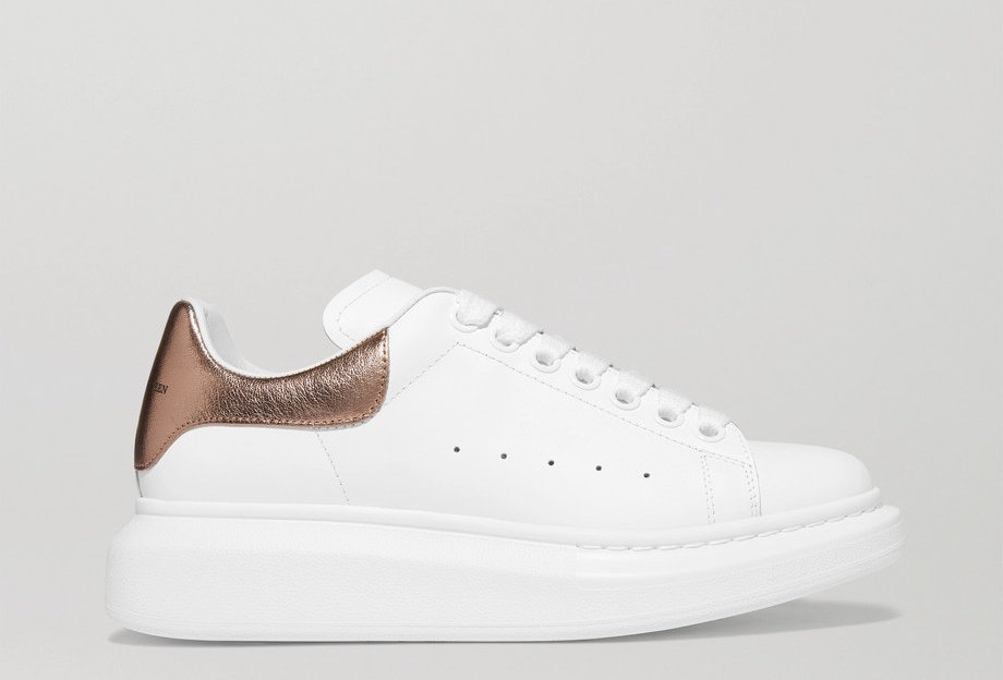Bronze exaggerated-Sole Sneakers