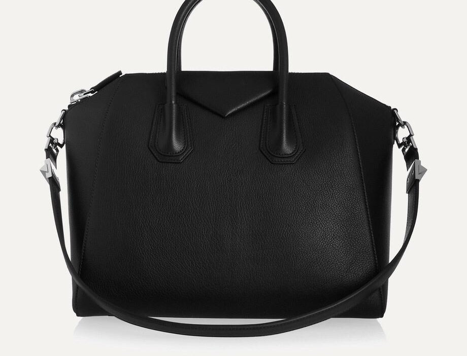 GA Medium Textured-Leather Tote
