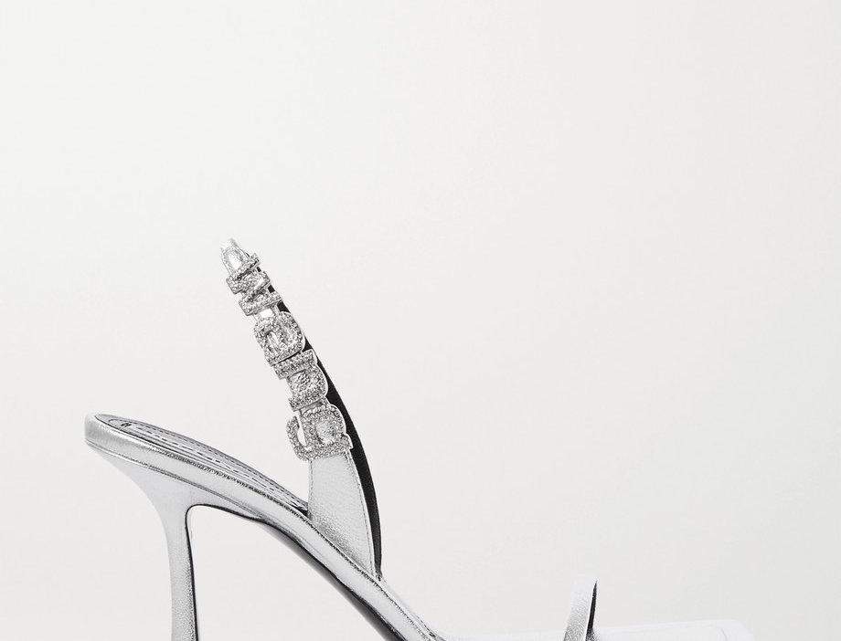 WI Crystal-Embellished Sandals