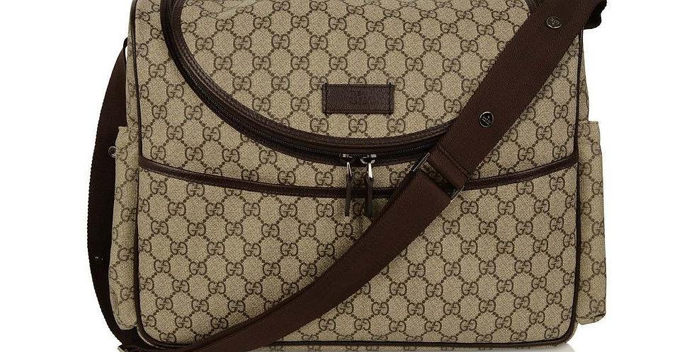 Brown DG baby bag