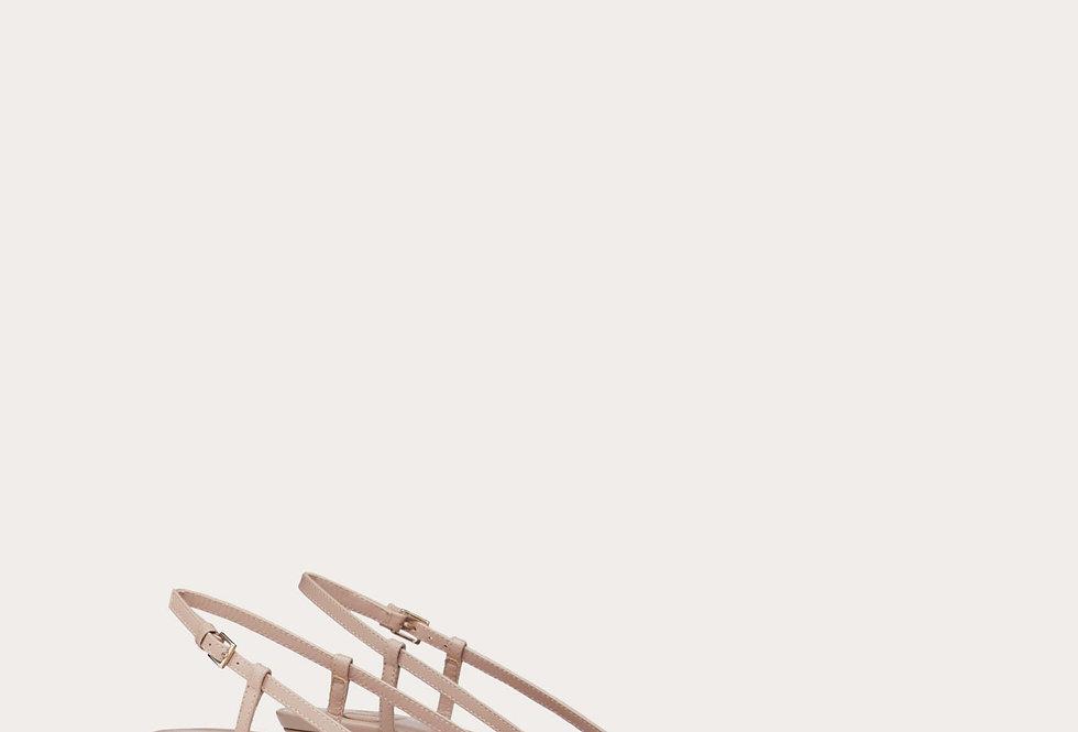 VL leather slingback pump 40 mm