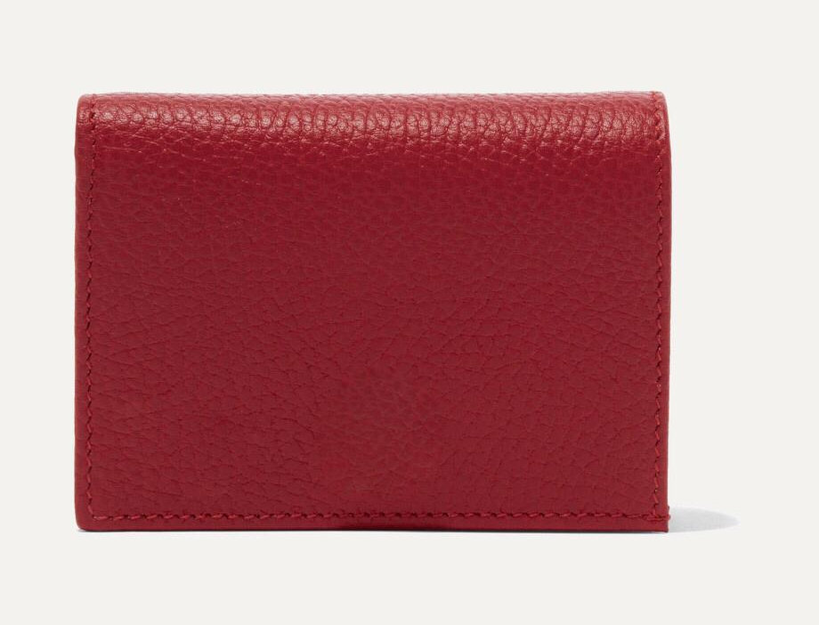 GM Petite textured-leather wallet